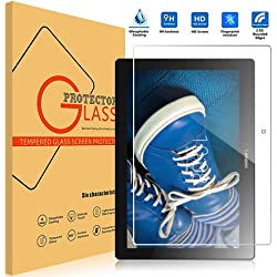 Lenovo TAB 2 A10-30F Protecteur D'écran en Verre Trempé, Vikoo 9H 0.3mm HD Clair Ultra-mince Film Protection écran Tempered Glass Screen Protector pour Tablette Lenovo Tab 2 A10-30F Screen Protector