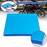Wildlead Cojín de gel para asiento de motocicleta Comfort Cojín de gel para asiento con...