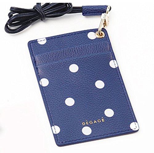 Degage Dot Karte Halter blau -