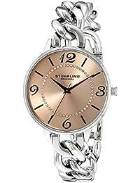 Stuhrling Original Reloj con movimiento cuarzo japonés Woman Vogue 37 mm