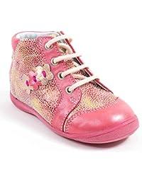 Chaussures à scratch GBB marron fille cMDiXItS