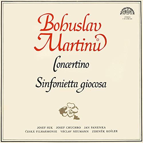 Concertino / Sinfonietta Giocosa [Vinyl LP] - Vac Vinyl