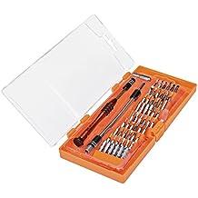 vfeng 58en 1con 54Bits magnético conductor Kit, portátil profundo Tornillo agujero de precisión destornillador Set Kit de herramientas de reparación de teléfonos iPhone, iPad, Tablet, PC, Macbook, & Electronics