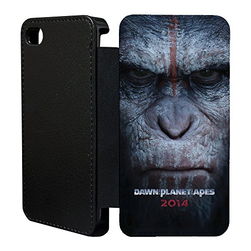 sci-fi-movie-posters-flip-case-cover-for-apple-iphone-5-5s-t2148-planet-of-the-apes-2-black