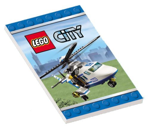 Lego City Mini-Notebooks (Packung mit 12)