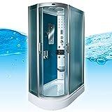 AcquaVapore DTP8060-7112L Dusche Dampfdusche Duschtempel Duschkabine 120x80, EasyClean Versiegelung der Scheiben:2K Scheiben Versiegelung +89.-EUR