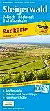 Steigerwald, Volkach - Höchstadt, Bad Windsheim: Radkarte mit Ausflugszielen, Einkehr- & Freizeittipps, wetterfest, reissfest, abwischbar, GPS-genau. 1:100000 (Radkarte / RK)