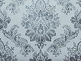 Rasch Papiertapete in grau weiß Ornament floral Muster 204834
