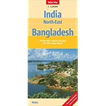India: North East, Bangladesh Nelles Map
