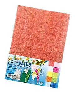 Folia 960409 - Papeles de colores para decoración (23 x 33 cm, 10 hojas en 10 colores) Importado de Alemania
