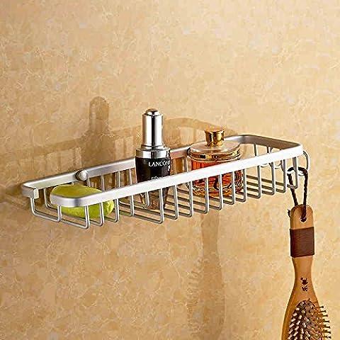 Spazio in alluminio SAPONE netto lunga scatola sapone porta sapone SAPONE stand Mensola scatola di sapone - Lungo Un Fotogramma