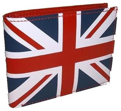 Neptune Giftware Leder ' Union Jack ' Brieftasche & Kreditkarteninhaber mit Münze & Hinweise