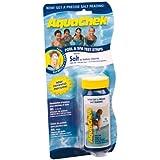 Aquachek - aquasel - 10 bandelettes test pour chlorure de sodium White