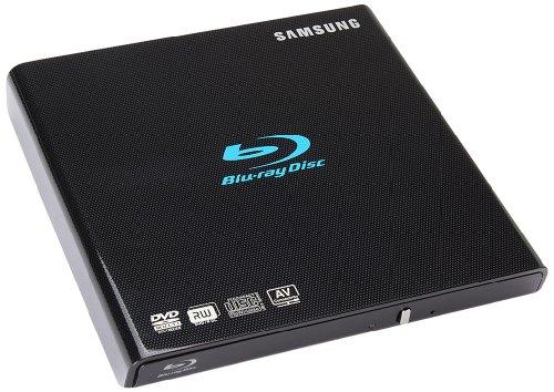 Samsung SE-506BB/TSBD externer Blu-ray 6x Brenner (6x DVD±R DL, USB 2.0) schwarz (Externes Samsung Dvd-laufwerk)