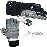 Segelhandschuhe von ATTONO Sommer Segeln Regatta Wassersport Handschuhe Größe 10/XL
