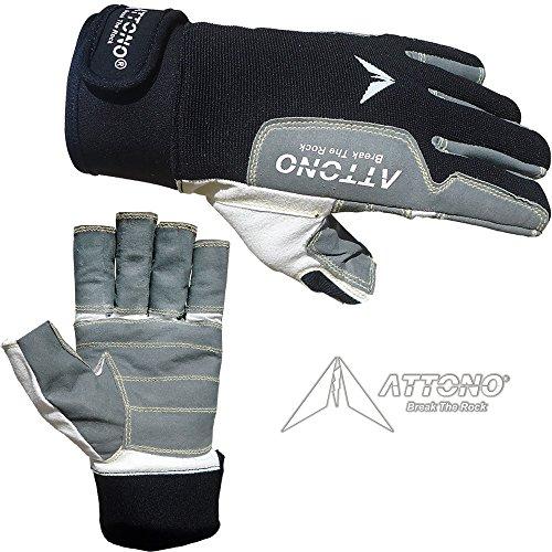 Handschuhe Bootsport Dry Fashion Protection Segelhandschuhe 2 Finger frei Wassersport Regatta Gloves