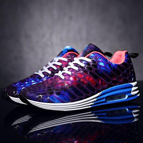 Hommes Casual Womens Mens Casual Chaussures Sneakers Léger Respirant Couples Chaussures Étudiant Chaussures de Course ( Color : 1-45 ) 2-44