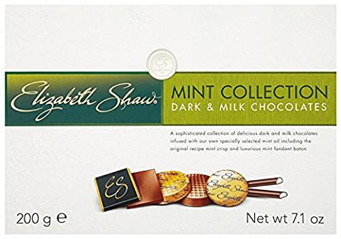 Elizabeth Shaw Collection Dark and Milk Chocolates (Pack of 1)