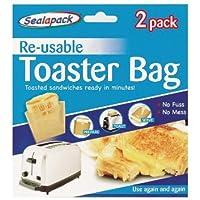 sealpack 2 Bolsas Reutilizables para tostadora, 2 Unidades