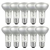 10 x Eco Halogen Reflektor R63 42W = 57W/60W E27 Halogenleuchtmittel Strahler warmweiß dimmbar