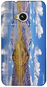 Timpax protective Armor Hard Bumper Back Case Cover. Multicolor printed on 3 Dimensional case with latest & finest graphic design art. Compatible with HTC M7 Design No : TDZ-25076