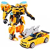 FunBlast™Transformers Bumblebee Robot To Car Converting Action Figure Toy, Transformers Action Figure Toy For Kids