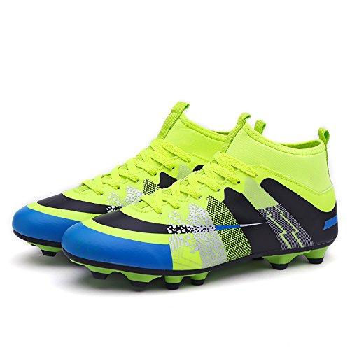 Easondea Botas de Fútbol Zapatos de Fútbol Dedicados FG Spike Grapas de. 9435c73b3d516