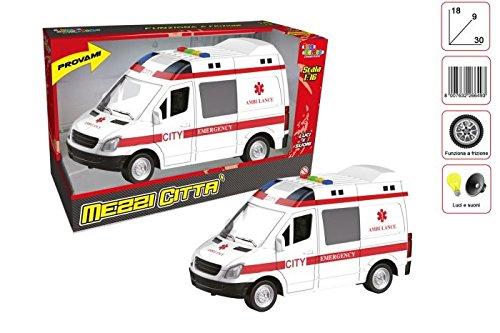 Toys Garden Srl Ambulancia Embrague L/s CM.3026649, Multicolor, 851062