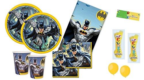 uni-que Kit n.6 Batman gotham coordinato compleanno