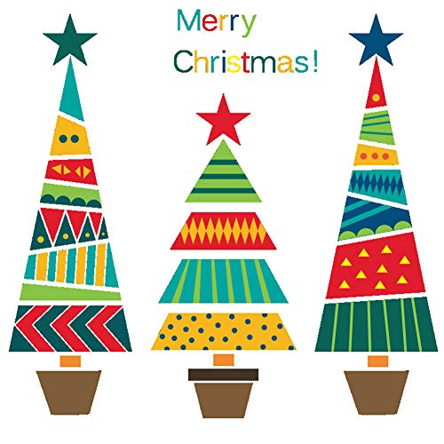 Ruikey Etiqueta Pared árbol Navidad Vinilo Pegatinas