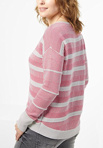 Cecil - Pull - À Rayures - Manches Longues - Femme raptured pink
