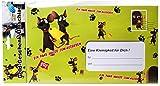 Riesen-Umschlag Ein paar Mäuse zum ausgeben für Geldgeschenke Pappe, ca. 18 x 30 cm