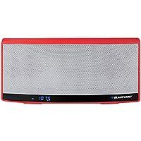 Blaupunkt BT 10 RD altavoz portátil Bluetooth con el altavoz de la NFC, radio, reproductor de MP3 micro SD (32 GB), 1300 mAh de la batería, pantalla LCD de la batería