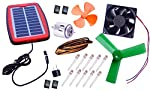 Multipurpose SOLAR energy educational kit is a best learning kit to know about basics of solar power conversion and applications. You can learn and enjoy the following using this kit:  Solar power generation Solar LED Lights Solar Fan Solar motor for...