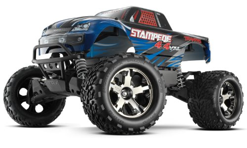 Traxxas 67086-4 Stampede 4x4 BRUSHLESS Monster Truck VXL TSM 2,4GHz blau