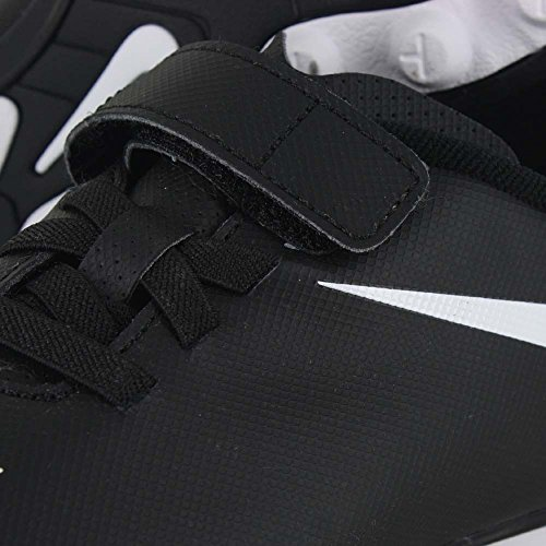 Nike - Jr Bravata (V) Fg-r, Scarpe da calcio Unisex – Bimbi 0-24 Nero / Bianco (nero / bianco-bianco)
