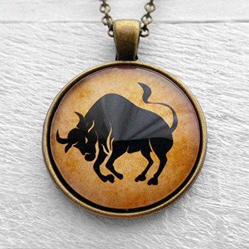 astrology-zodiac-sign-taurus-tierkreis-anhanger-und-halskette