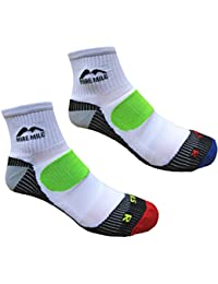 Adults TWO PAIR PACK More Mile cushioned LONDON running sock