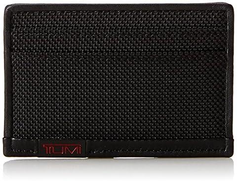 Tumi Alpha Slim Card Case, Black (Black) - 119259
