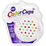 Wilton 415-0627 Caissettes cupcakes motif pois - Par 36