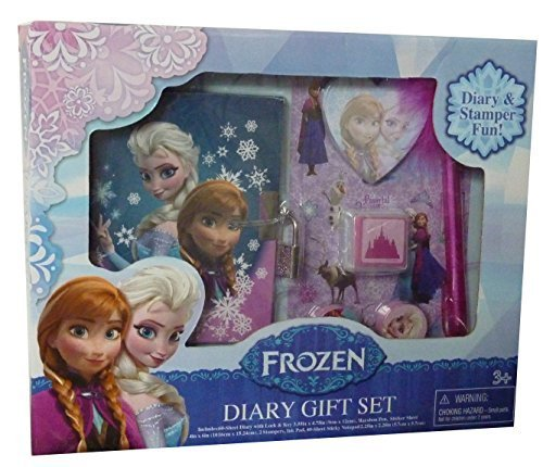 Tri-Coastal Design Frozen Boxed Diary Gift Set by Tri-Coastal Design (Toys)