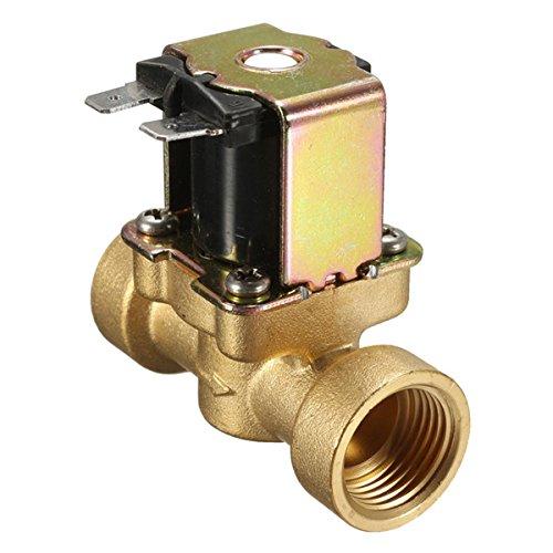 DyNamic 220V 2 Weg Normalerweise Verschlossen Messingventil Für Luftwasserventil -