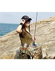 Angelger/ät Tasche Angelrute Tasche Hartschalen Angelausr/üstung Tasche 1,25 Meter wasserdicht Fluss Angeln Tasche Angeln mit Halterung Angeln Tasche im Freien Sport