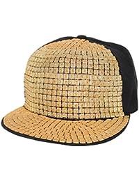 Krystle Unisex Sequin Punk Hedgehog Rock Hip Hop Adjustable Baseball Cap