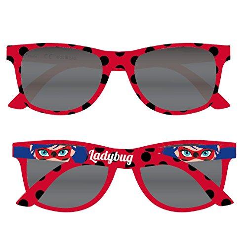 Preisvergleich Produktbild Miraculous, die Geschichten von Ladybug und Chat Noir 2500000879 Sonnenbrille, Kinder, Filter 3, Rot