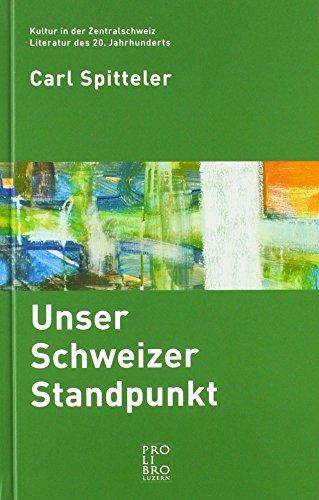 Unser Schweizer Standpunkt: Lesbuch