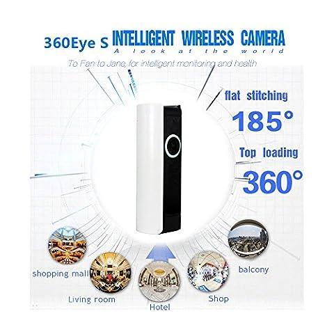 Caméra domestique sans fil IP Wifi, caméras de sécurité domestique 720P HD Prise en charge pour IOS et Android avec moniteur bébé pour bébé 2