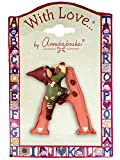 gnomys Diaries Figurine Letter Fairy of the Fortune A, Paste Stone, Multicolor, 11 x 2 x 16 cm