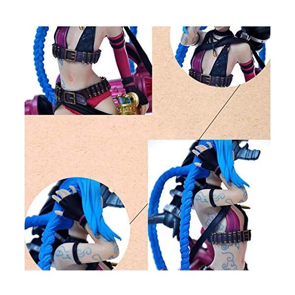 Xuping POPVinyl Juego Mano Jinx Adornos Runaway Loli Limitada colección LOL Accesorios de Coche Vestido Personalizado 5