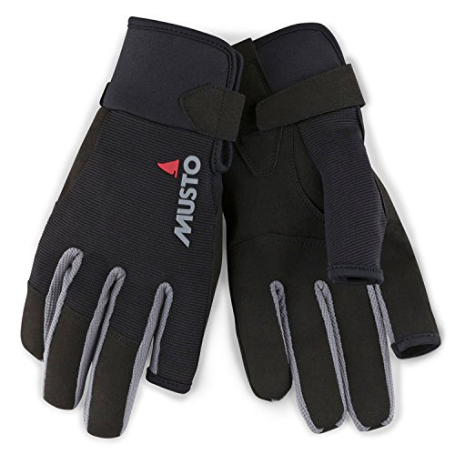 Musto Essential Sailing Long Finger Glove Black-XXL